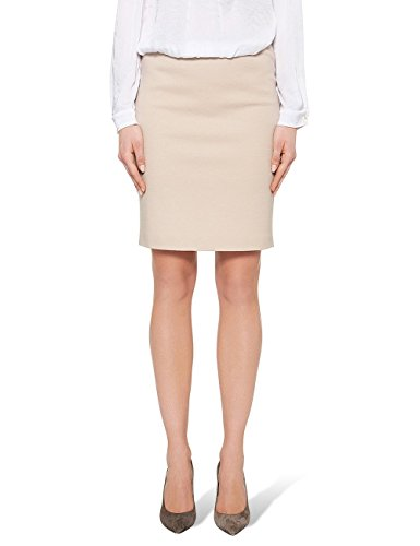 Marc Cain Essentials +E 71.05 J05, Gonna Donna, Beige (Sand 604), 36