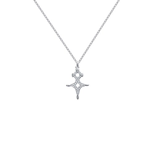 Lolita-Bling - Halskette mit Kreuz-Anhänger, Kreuz des Südens Agadez, Sterling-Silber 925, Art.-Nr. 148547a, 45cm - Schmuckhändler Lolita Bling - schöne Schmuckstücke