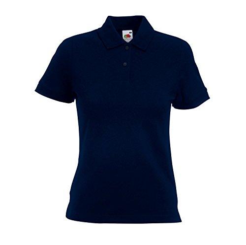 Camicia Polo Donna taglio femminile figura-abbracciare Poloshirt Deep Navy