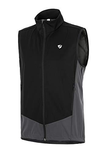 Ziener Herren CAJOL man (softshell vest) Softshell-Weste - Fahrrad/Outdoor/Sport - winddic