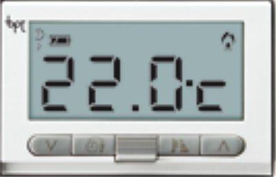 BPT Ta/350 Termostato Digitale da Incasso, Bianco