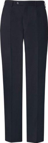 GREIFF Herren-Hose Anzug-Hose BASIC comfort fit - Style 1324 - marine - Größe: 27