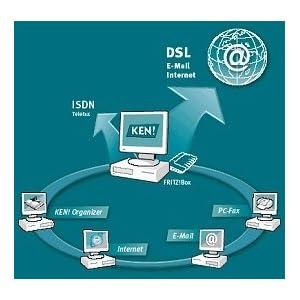 311A6M7VC7L. SS300  - AVM Ken 4 E-Mail + Internet D (Leistungsfähige + sichere E-Mail-Lösung für Firmen und Profis)