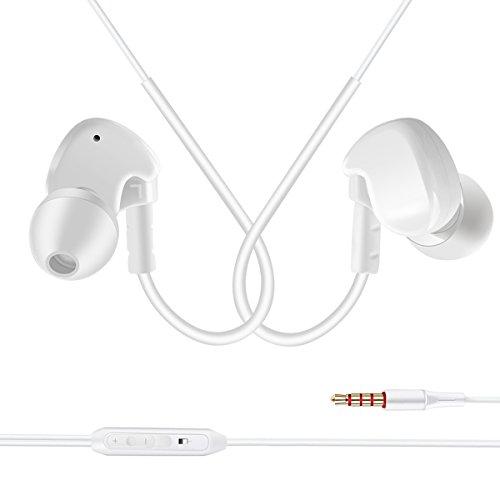 All Cart In-Ear Kopfhörer Ohrhörer Wired Kopfhörer Sport Earbuds mit Mic & Volume Control für das Laufen Jogging und Fitnessstudio