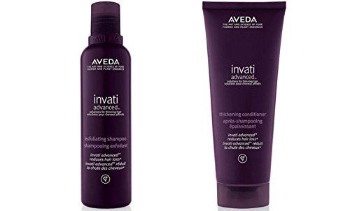 Aveda Invati duo- Shampoo & Conditioner & #-; Haar Wachstum zu fördern, und gleichzeitig die Spülung fügt Volumen und einen gesunden Glanz