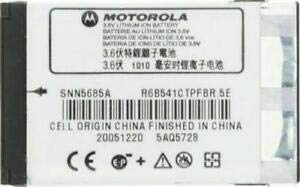 Motorola Nextel Akku snn5685a 1010mAh Extended für Ihr Motorola V260, V262, V265, V266, V276(Nextel) i30, I35, i50, I55, I58, i60, i85, I88, i90, i95, i99cl, i205, I260, i265, i275, i285, i305, i315, i325, i355, i450, i530, i560, i670, i710, i720, i730, i760, i850, i855, i860, i870, i875, i920, i930 Nextel Motorola I355