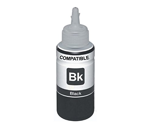 AB Compatible EPSON Black T6641 Refill Ink for L100, L110, L130, L200, L210, L220, L300, L310, L350, L355, L360, L365, L455, L550, L555, L565, L1300  available at amazon for Rs.322