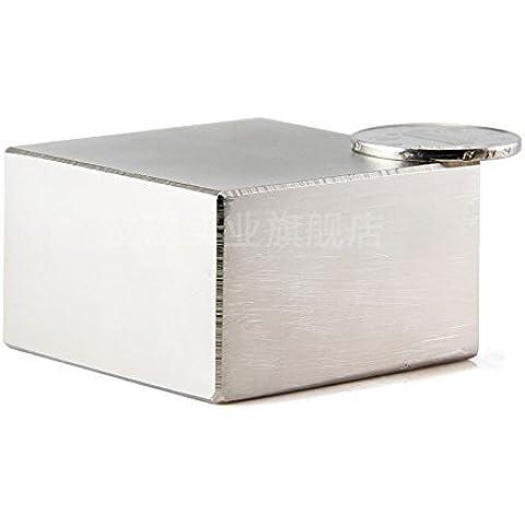 AOMAG® 230 kg di trazione Rare Earth neodimio N52 Bar blocco rettangolare Magnete 50 x 50 x 30 mm