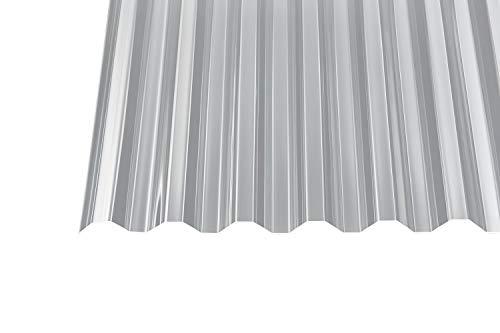 Acryl Wellplatten Profilplatten Trapez 76 18 Klar Ohne Struktur 15 Mm 5000 X 1045