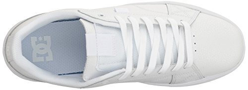 DC Mens Astor Skateboarding Shoe White/Gum