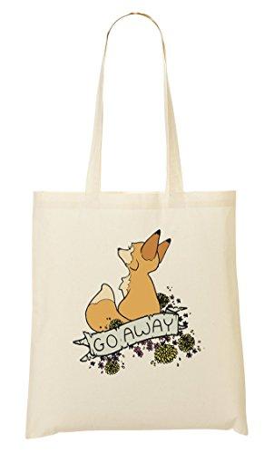 Foxy Go Away Tragetasche Einkaufstasche - Foxy Hipster