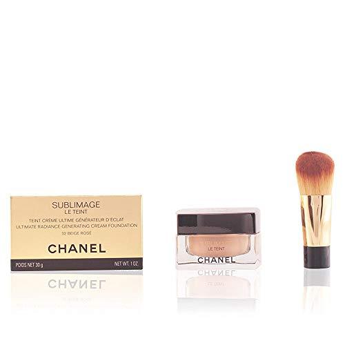 Chanel Sublimage le Teint Set di Fondotinta, Barattolo di Vetro e Pennello, B20-30 ml
