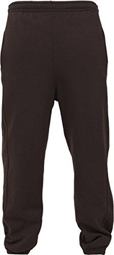 Urban Classics Damen Hose Loose Fit Sweatpants Braun