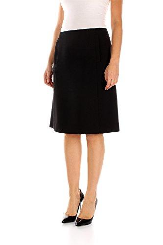 Jupes au genou Prada Femme - (P175FINERO) Noir