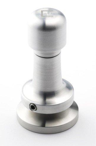 ex CA dynamometrischer Tamper Technic, silber, 58 mm (Espresso Tamper Automatische)