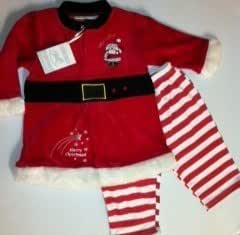 Baby Girl Christmas dress & legging set 3-6 months: Amazon.co.uk: Baby