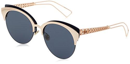 Dior Damen DIORAMACLUB A9 2BN Sonnenbrille, Rot (Red Gd Mtbluee/Bluette Avio Ar), 55