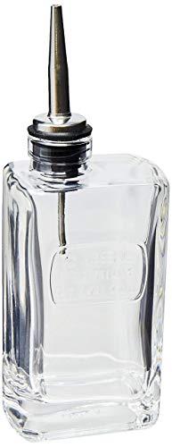 Optima Servierflasche für Olivenöl, inkl. Ausgießer, 0,25l - Olivenöl-glas-glas