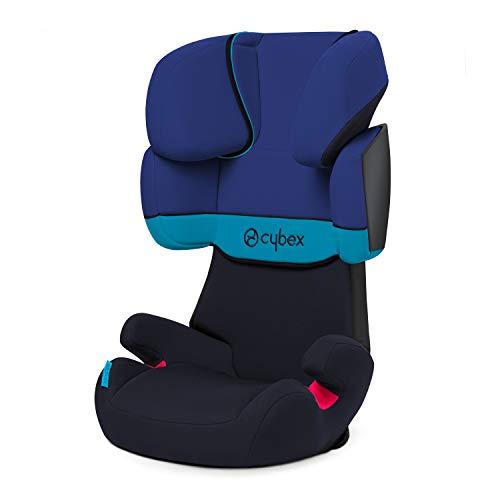 Cybex Silver Solution X, Autositz Gruppe 2/3 (15-36 kg), ohne Isofix, Kollektion 2018, Blue Moon -