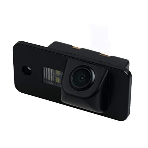 YUGUIYUN Auto Rückfahrkamera, Auto Rückansicht Kamera HD CCD Nachtsicht Rückansicht Rückfahrkamera für A3 A4 A6 A8 Q5 Q7 A6L