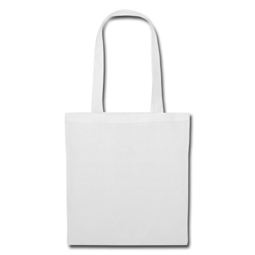 Smiley Spreadshirt Mondo Cento Per Cento Paris Borsa In Tessuto Bianco