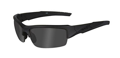 Wiley X Schutzbrille WX Valor aus der Changeable-serie Im Set mit 3 Gläsern, Matt Schwarz, S-L, CHVAL06