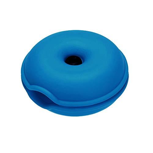 Colorful In-Ear Headset Smart Aufbewahrungsbox/Ohrhörer Halter Case/Kopfhörer Spulenwickel Wrap/Kabel Tangle-Free Portable Manager/Kabel-Speicher-Organizer/Wire Keeper (Blau) (Ohrhörer-halter Wrap)