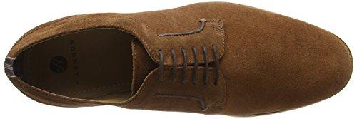 Hudson Albany Suede, Chaussures à Lacets Homme Marron