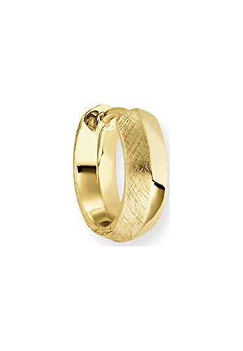 Baldessarini Herren-Creole 925 Silber gelb vergoldet - Y2127E/90/00/