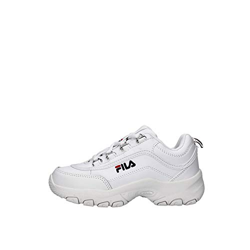 Fila - Strada Low Kids Col 1fg 1010781 Blanco