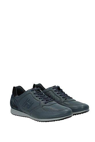 HXM2050R9809AK425F Hogan Sneakers Uomo Pelle Grigio Grigio