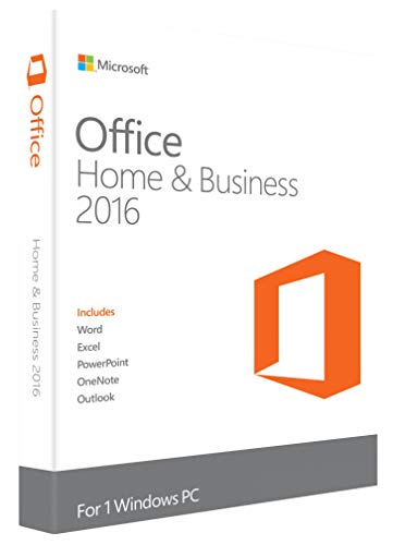 HP Microsoft Office 2016 Home and Business Software