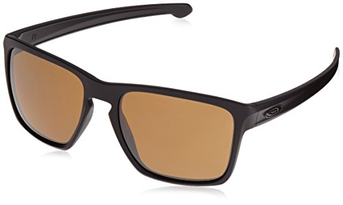 Oakley Herren Sliver XL 934116 57 Sonnenbrille, Schwarz (Matte Black/Prizmtungstenpolarize Preisvergleich
