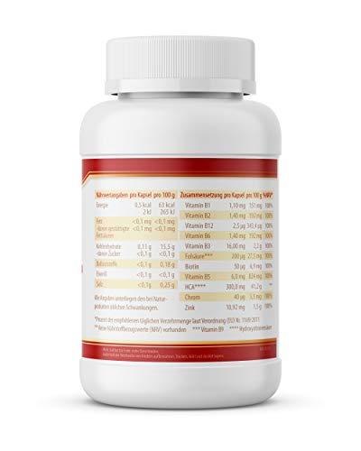 Garcinia Cambogia GC * 1500 mg TD * 120 vegane Kapseln – 100% natürlich * Premium Qualität * – Made in Germany – VITACONCEPT