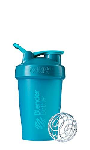 Shaker Haken (BlenderBottle Classic Loop Shaker | EiWeiß Shaker | Diät Shaker | Protein Shaker mit BlenderBall   Teal)