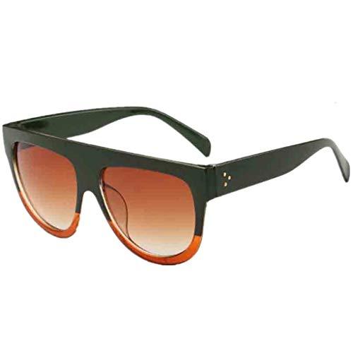 FiedFikt Unisex Polarisierte Sport-Sonnenbrille Vintage verspiegelte Sonnenbrille für Herren/Damen Radfahren, Laufen, Autofahren, Angeln, Golf, Baseball, Outdoor, Sportbrille 100% UV-Schutz D