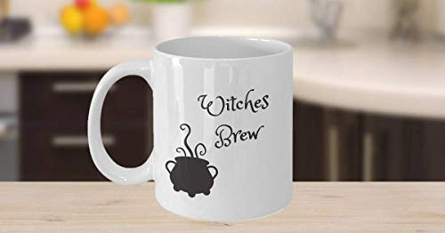 Coffee Mug - Mug for Witches Brew - Gift for Witches - Halloween Mug ()