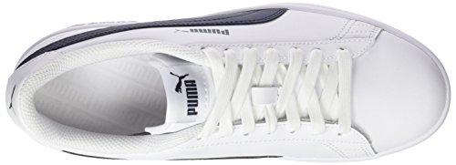 Puma Smash V2 L, Scape per Sport Outdoor Unisex – Adulto Blu (Puma White-peacoat)