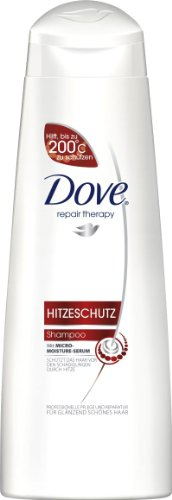 Dove Repair Therapy Hitzeschutz Shampoo, 3er Pack (3 x 250 ml)