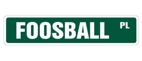 Zitat Aluminium Schild Fußball, Straßenschild, Spielzimmer, Fußball, Bälle, Neuheit Straßenschild, Metallschild, Wandschild, Dekoration - Neuheit Fußball-bälle