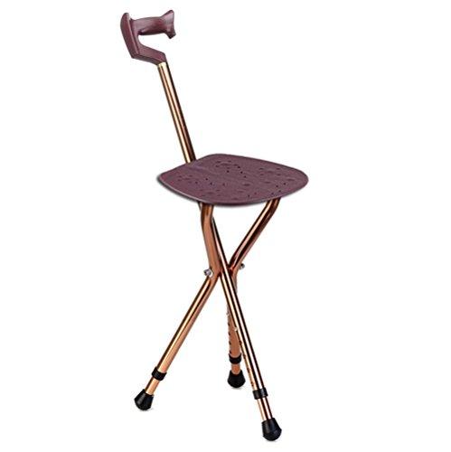Vorteil Krücken (G&M Ältere Crutch Klappstuhl Lässige Krücke Tragbare Hocker Stativ Sitzstock)