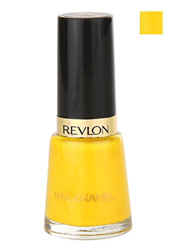 Revlon Nail Enamel, Sunny Yellow (8ml)