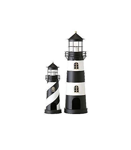 Laterne Leuchtturm Faro S/2 Material: Eisen -