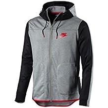 Nike M NSW AV15 HOODIE FZ FLC - Sweatshirt Grau