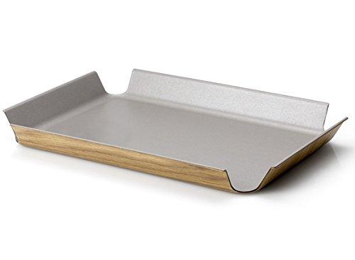 Continenta Rutschfestes Tablett Taupe, metallic, One Size