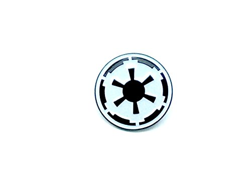 Imperial Forces Schwarz Star Wars Cosplay Metal Pin Badge