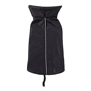 TQP-CK Dog Vest pour Puppy Doggie Pet Puppy été Chien Chat Vêtements Vest Noir XXXL