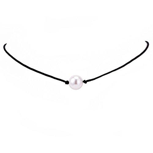 Pearl Choker - LnLyin Faux Pearl Choker Halskette Necklace