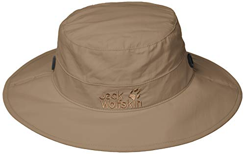 Jack Wolfskin Supplex Mesh Hut, siltstone, M (Wolfskin Jack Hut)