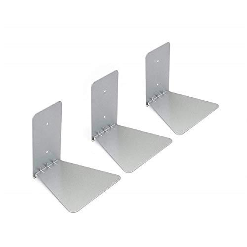 Koojawind Estantería de Metal, Estante Flotante para Almacenamiento y visualización apilables Estantería...